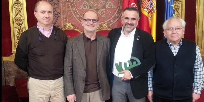 Mikel Aguirre Galardonado por el Gobierno de Navarra
