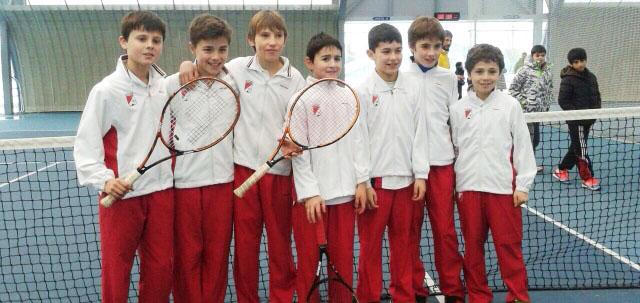 Campeonato Navarro Alevín masculino por equipos – Tenis Pamplona gana