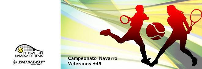 CAMPEONATO NAVARRO VETERANOS +45 Abierto el plazo de inscripción