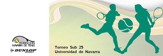 """TORNEO SUB 25 """"UNIVERSIDAD DE NAVARRA"""" Abierto el plazo de inscripción"""