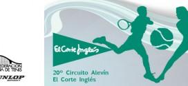 20º CIRCUITO DE TENIS ALEVÍN Abierto el plazo de inscripción para el 3º Torneo