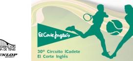30º CIRCUITO DE TENIS CADETE MASCULINO Y JUNIOR FEMENINO. Documentación y orden de juego del 3º Torneo