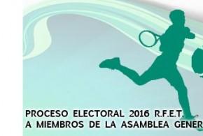 PROCESO ELECTORAL 2016 R.F.E.T. A MIEMBROS DE LA ASAMBLEA GENERAL
