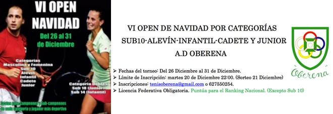 VI Open Navidad