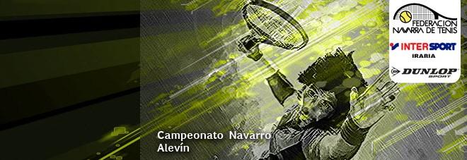 CAMPEONATO NAVARRO ALEVÍN 2018 Cuadros y orden de juego