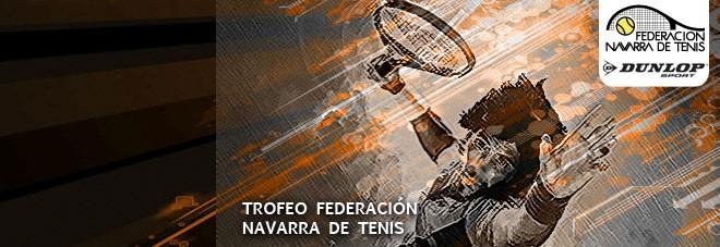 """13º TROFEO JUNIOR """"FEDERACIÓN NAVARRA DE TENIS"""" Abierto el plazo de inscripción"""