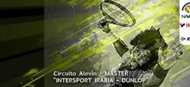 """MASTERS 23º CIRCUITO DE TENIS ALEVÍN """"INTERSPORT IRABIA – DUNLOP"""" Documentación del Masters y orden de juego"""