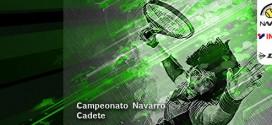 CAMPEONATO NAVARRO CADETE 2019 Documentación
