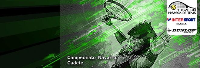 CAMPEONATO NAVARRO CADETE 2019 – Lista de entrada