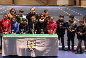 """21º Circuito Alevín """"InterSport Irabia – Dunlop"""" (1º Torneo) – Unai Laguardia y María Verano campeones"""