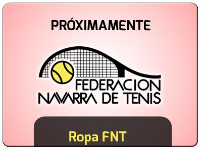 Próximamente estará a la venta la ropa oficial de la Federación Navarra de Tenis