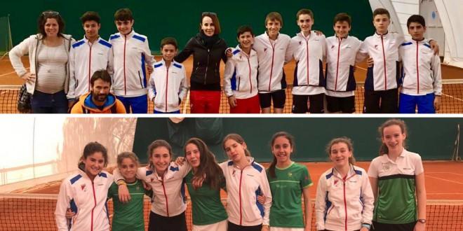 Juegos Deportivos de Navarra Infantil – Doblete del Club Tenis Pamplona
