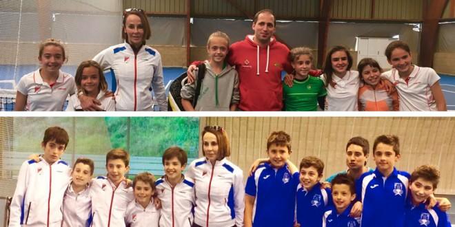 Campeonato Navarro Alevín por equipos 2017 – Valle de Aranguren y CT Pamplona campeones
