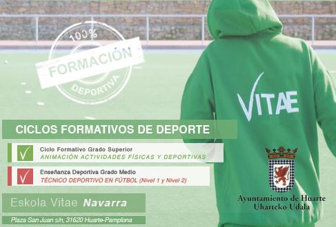 Tenis dentro de Eskola Vitae Navarra