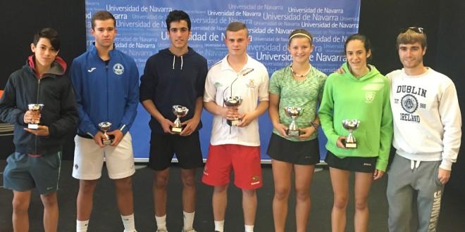 13º Trofeo Junior Federación Navarra de Tenis – Miguel Abete y Oihane Vicario campeones