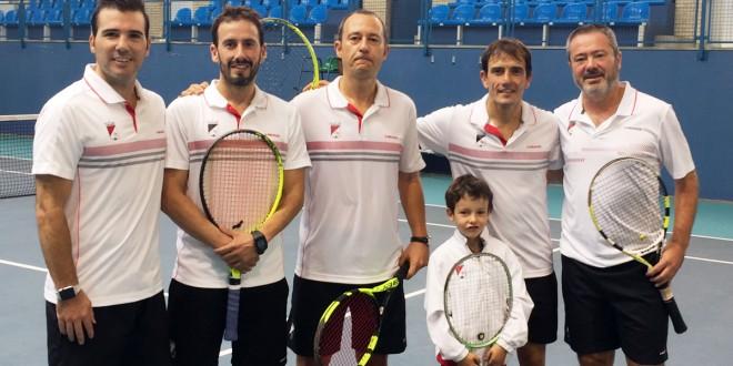 Campeonato Navarro por equipos de Veteranos+35 – Club Tenis Pamplona campeón