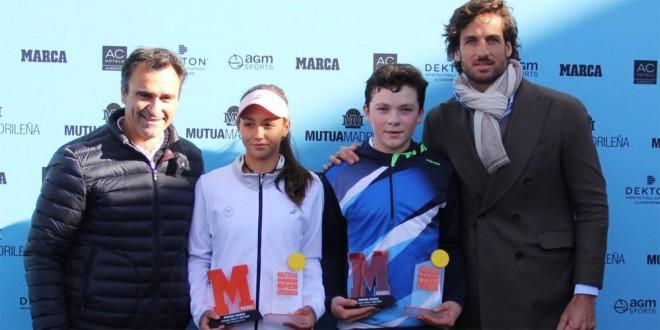 Iñaki Montes campeón del Mutua celebrado en Madrid