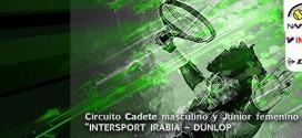 """32º CIRCUITO DE TENIS CADETE MASCULINO Y JUNIOR FEMENINO """"INTERSPORT IRABIA – DUNLOP"""" Abierto el plazo de inscripción para el 1º Torneo"""