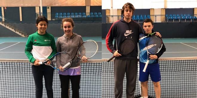 Circuito Absoluto de Tenis – Iñaki Montes y Paula Hijos vencedores
