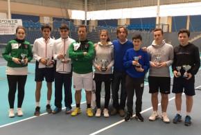 Campeonatos Navarros Alevín y Cadete: Gomez, Fassio, Montes e Izco campeones