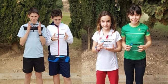 Babolat Cup Alevín – Asier Gómez y Camila Fassio campeones