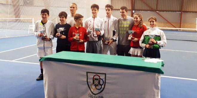Campeonato Navarro Infantil – Antonio Prat y Martina Fassio campeones