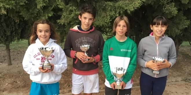 """22º Circuito Alevín """"InterSport Irabia – Dunlop"""" – María Dendariarena y Álex Aldaz vencedores"""