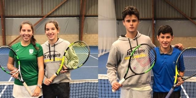 """Máster Infantil """"InterSport Irabia – Dunlop"""" – Lucía Ibarrola y Antonio Prat campeones"""
