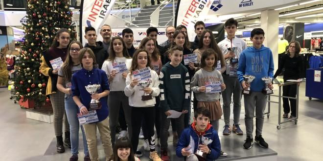 Entrega premios Máster InterSport Irabia – Dunlop