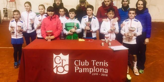 """23º CIRCUITO ALEVÍN """"INTERSPORT IRABIA – DUNLOP"""" (1º Torneo) – Koldo Zúñiga y Camila Fassio campeones"""