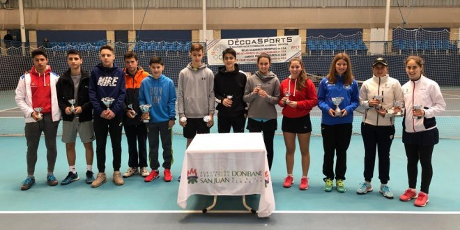 "33º CIRCUITO CADETE""INTERSPORT IRABIA – DUNLOP"" (1º Torneo) – Iker Gaztambide y Oihane Vicario vencedores"
