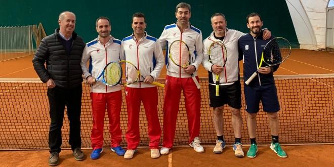 Campeonato Navarro por equipos +35 – Club Tenis Pamplona campeón