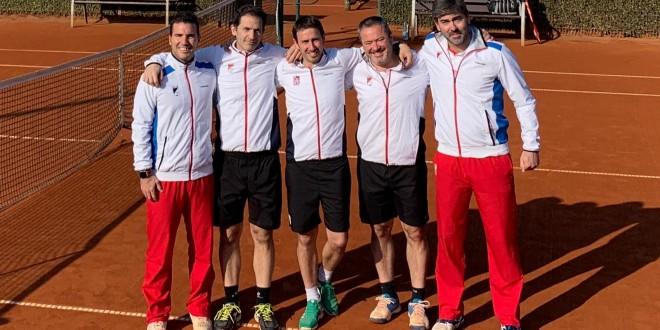 Campeonato de España por equipos +35 de 1ª categoría – El Club Tenis Pamplona semifinalista