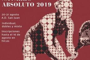 CAMPEONATO NAVARRO ABSOLUTO 2019. Documentación ya disponible