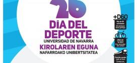 DÍA DEL DEPORTE DE LA UNIVERSIDAD DE NAVARRA CON CAMISETA GRATIS
