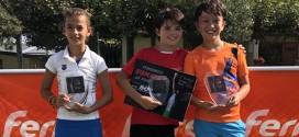María Trujillo, Adrián García y Rodrigo Caño, campeones I Open Grupo Ruiz