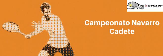 CAMPEONATO NAVARRO CADETE 2020 Documentación del campeonato